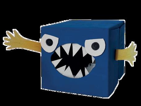 Activité manuelle : créer une boîte à cauchemars.