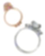 Tiffany wedding ring - gold - silver - diamond - illustration - Ben Liu