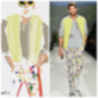 Toronto-FashionWeek-livesketch-BenLiu-Fashion-illustrator