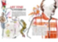 Ben Liu illustration Music VS wine