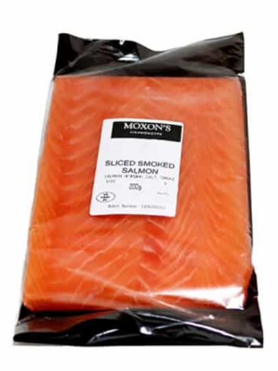 Moxon's Smoked Salmon Sliced
