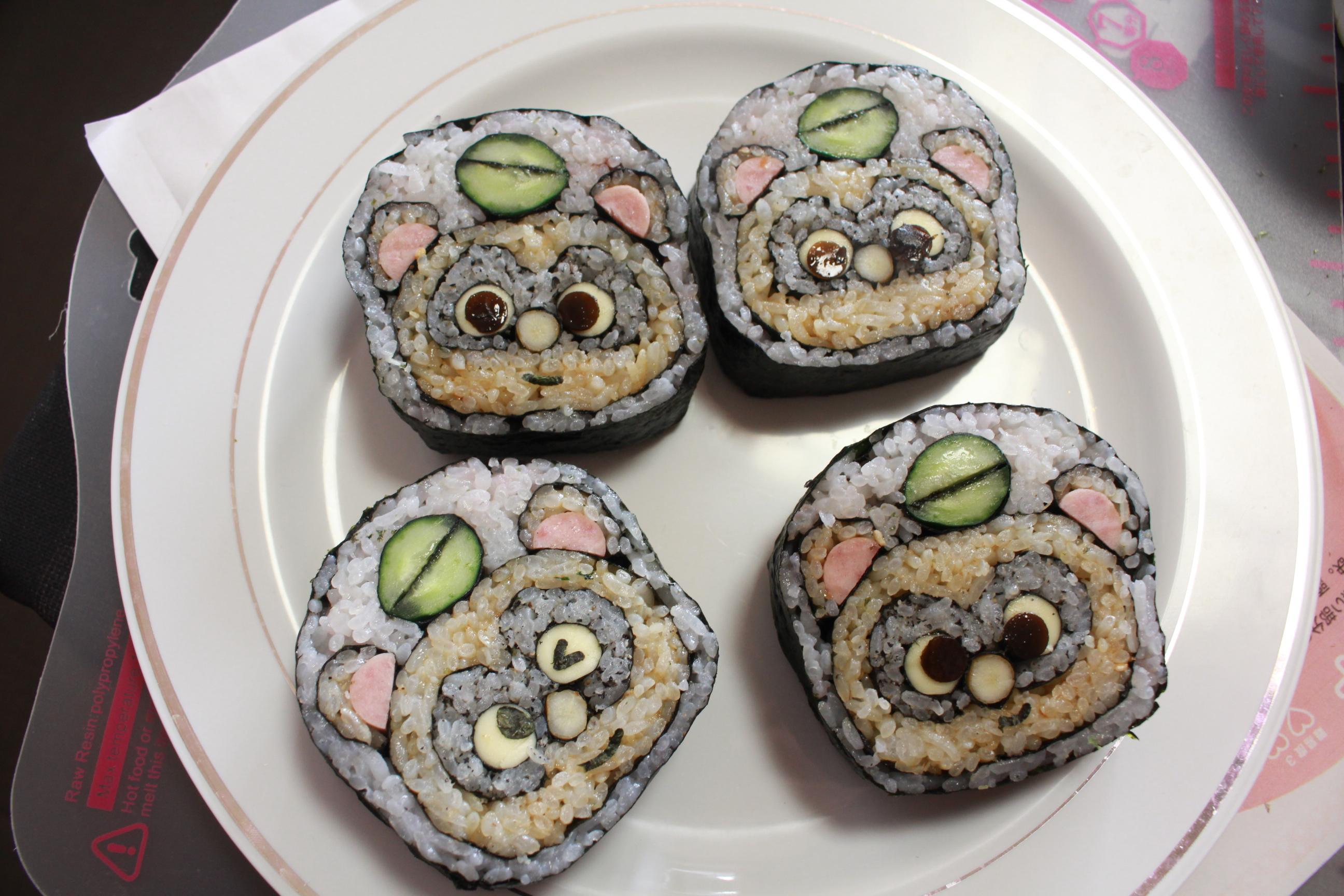 狸巻き寿司