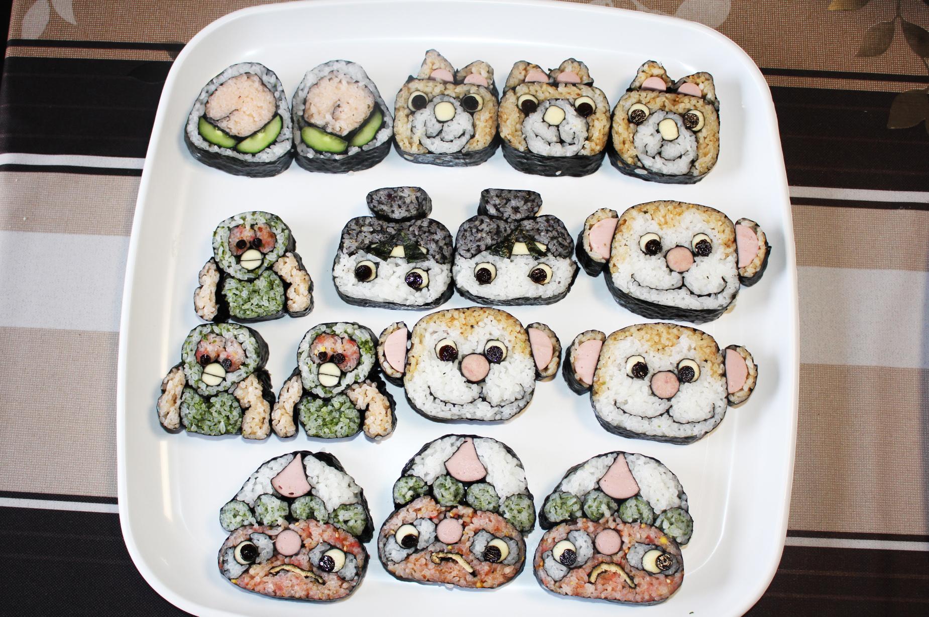桃太郎巻き寿司セット
