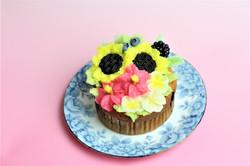 常夏のメガカップケーキ