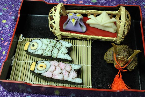 子供の日巻き寿司練り切りセット