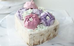バタークリームケーキ 芍薬