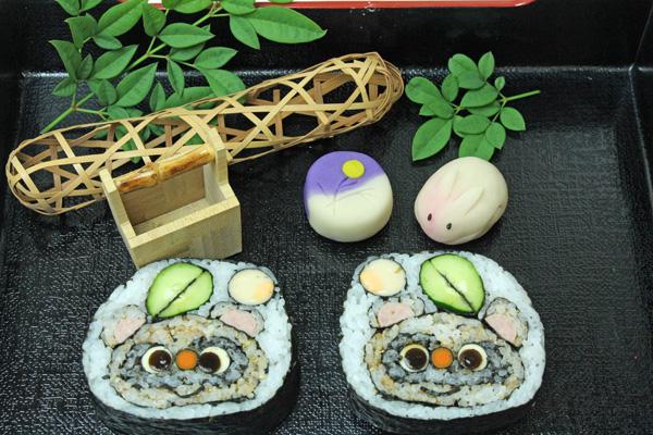 中秋の名月 寿司練り切りセット