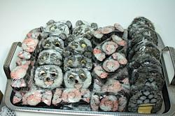 子供食堂へ巻き寿司