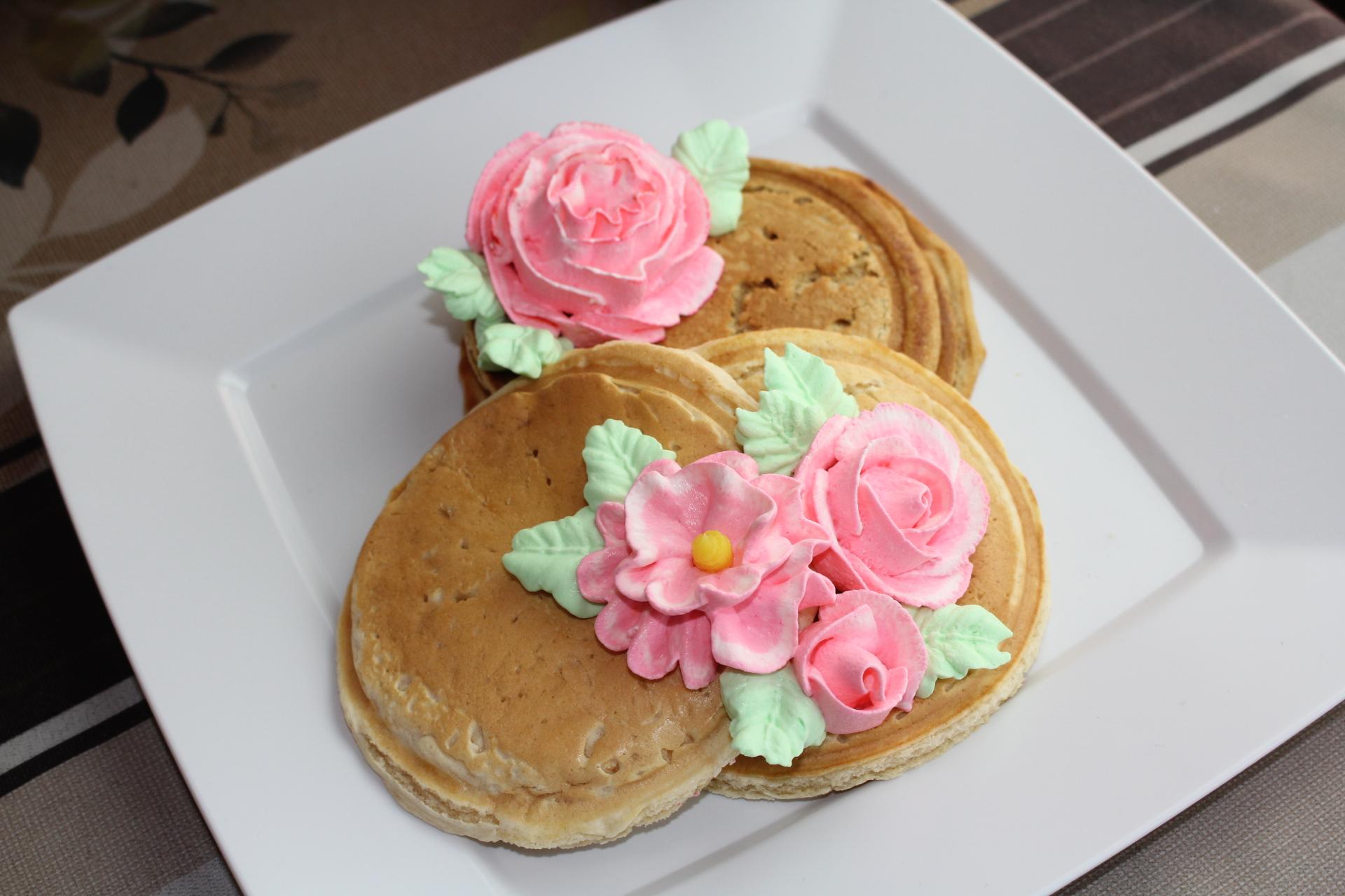 パンケーキデコ
