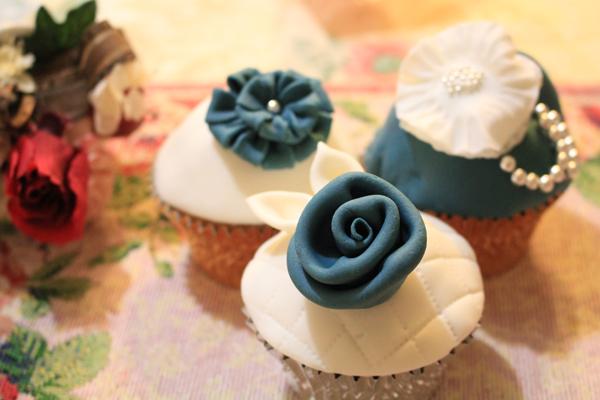 ローズカップケーキ