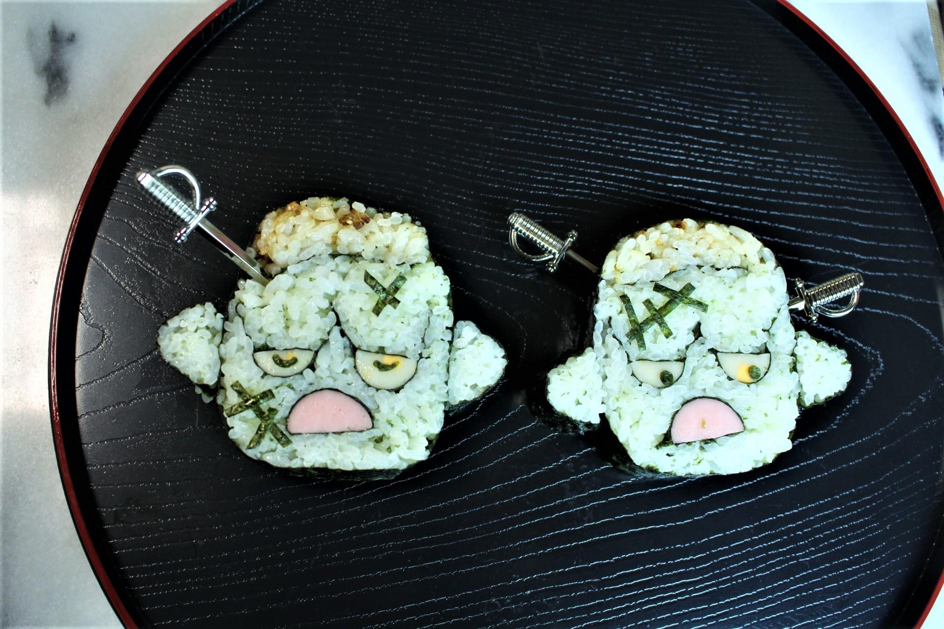 フランケン巻き寿司