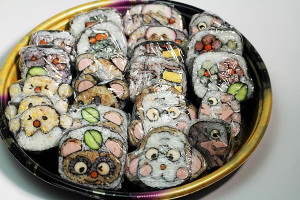 色々な巻き寿司