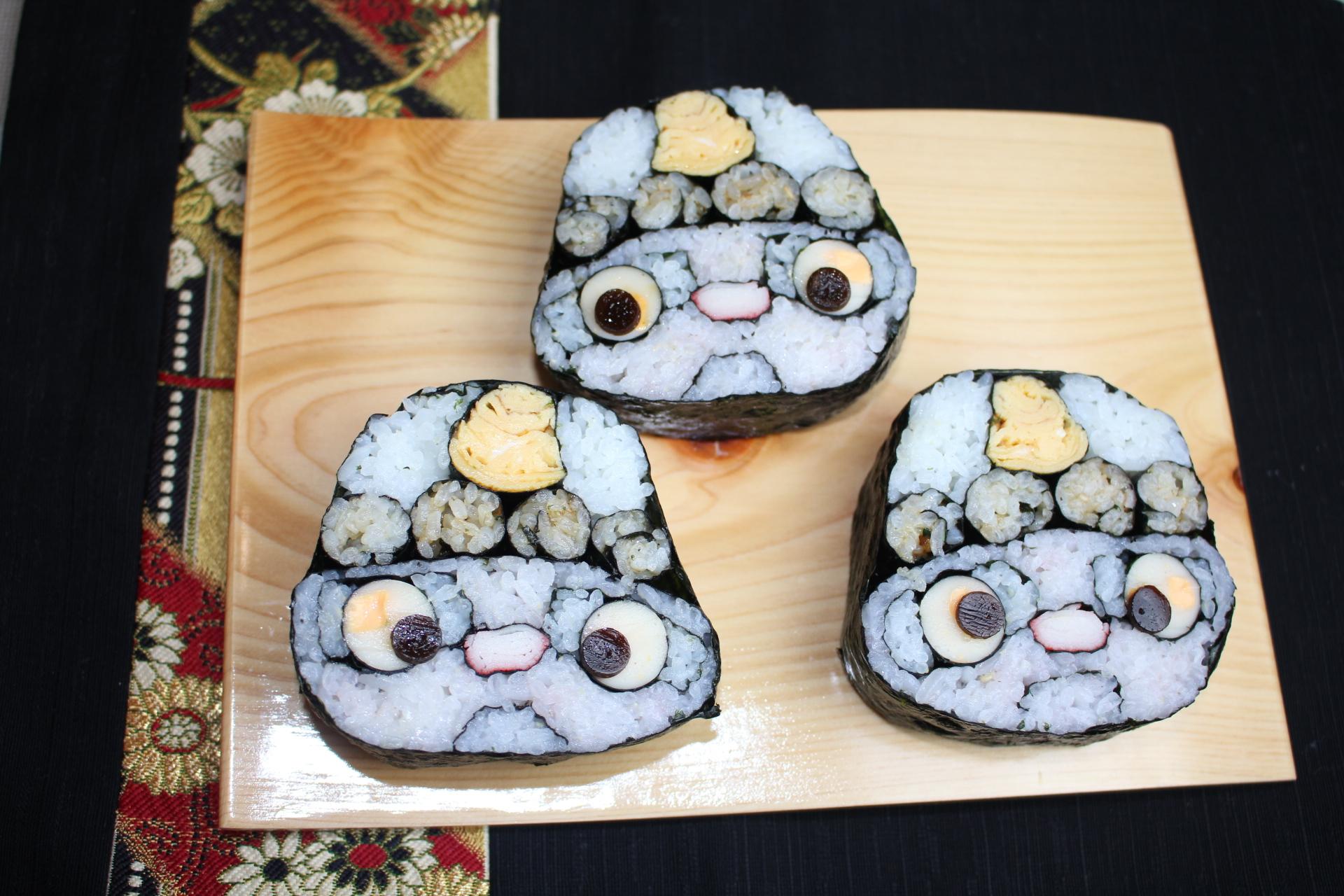 鬼の巻き寿司