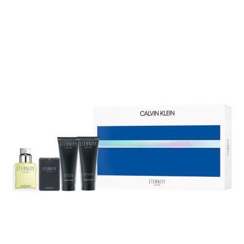 Eternity by Calvin Klein 4pc Gift Set Eau de Toilette 3.4oz
