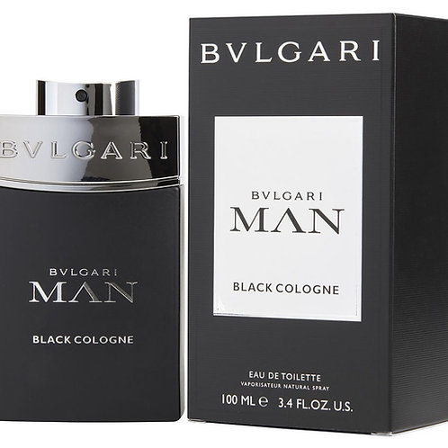Bvlgari Man Black Cologne EDT 3.4oz