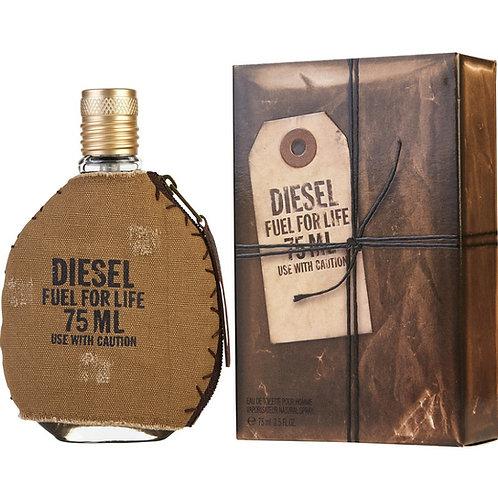 Diesel Fuel For Life Eau De Toilette Spray 2.5 oz