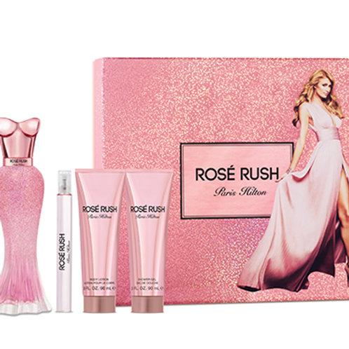 Paris Hilton Rose Rush 4pc Gift Set EDP