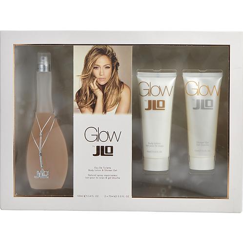 Glo by Jennifer Lopez 3pc Gift Set EDT 3.4oz