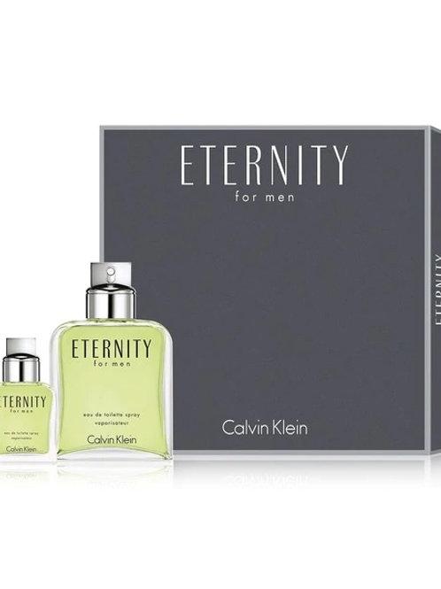 Eternity by Calvin Klein 2 Piece Gift Set EDT 6.7oz