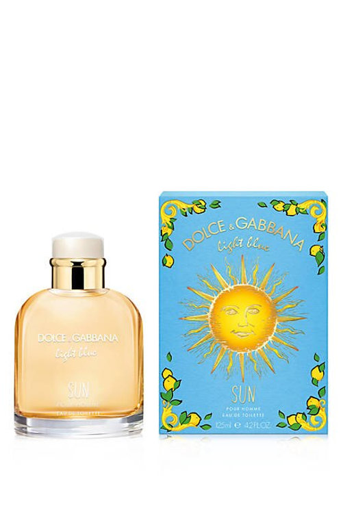 Dolce & Gabbana Light Blue Sun for Men EDT (Limited Edition) 4.2oz