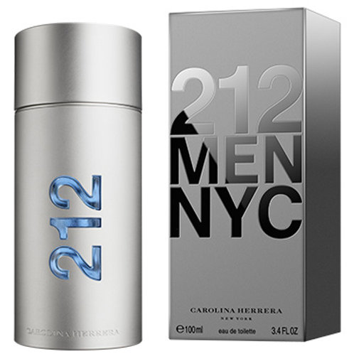 212  NYC  For Men by Carolina Herrera  Eau de Toilette 3.4 OZ