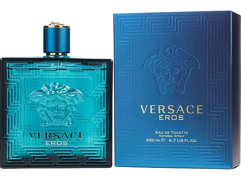 Versace Eros for Men Eau de Toilette 6.7oz