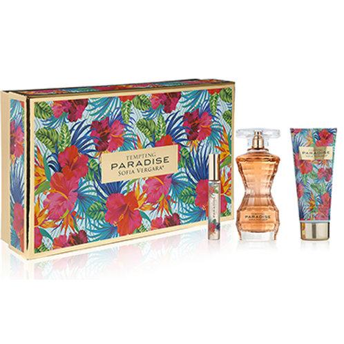 Tempting Paradise by Sofia Vergara 3pc Gift Set EDP