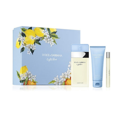 Dolce & Gabbana Light Blue for Women 3pc Gift Set EDT