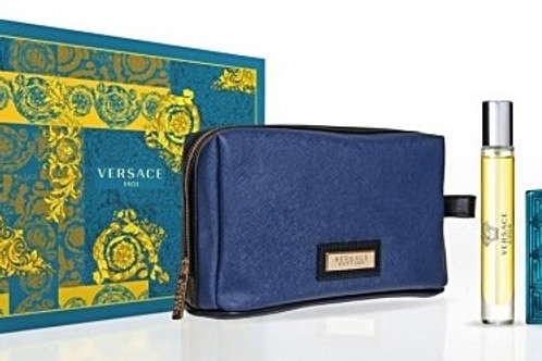 Versace Eros for Men 3pc Gift Set Eau de Toilette