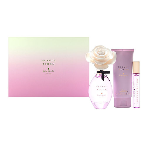 In Full Bloom by Kate Spade for Women 3pc Gift Set EDP