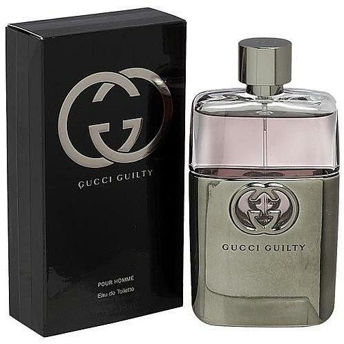 Gucci Guilty Pour Homme by Gucci Eau De Toilette 3 OZ