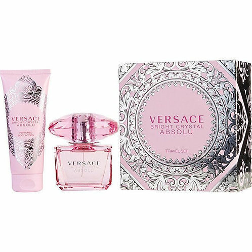 Versace Bright Crystal Absolu for Women 2pc Travel Set EDP