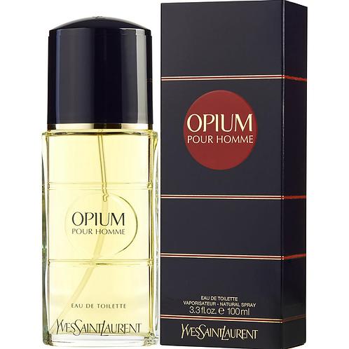 Opium Pour Homme by Yves Saint Laurent Eau de Toilette 3.3oz