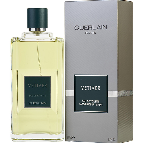 Vetiver by Guerlain Eau De Toilette Spray (New Packaging) 6.7 oz