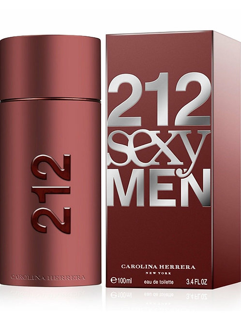 212 Sexy for Men by Carolina Herrera Eau de Toilette 3.4OZ