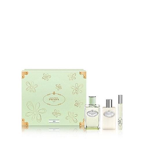 Prada Les Infusions de Prada Iris for Women 3pc Gift Set Eau de Parfum
