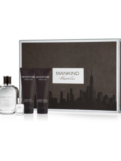 Kenneth Cole Mankind 4pc Gift Set EDT