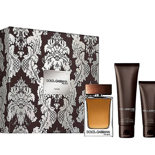 The One for Men 3pc Gift Set by Dolce & Gabbana EDT