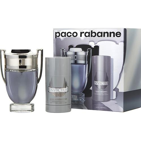 Paco Rabanne Invictus for Men 2pc Gift Set Eau de Toilette