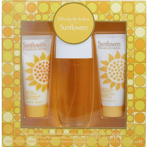 Sunflowers by Elizabeth Arden for Women 3pc Gift Set EDT