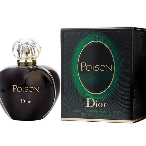 Poison for Women by Dior EDT 3.4oz