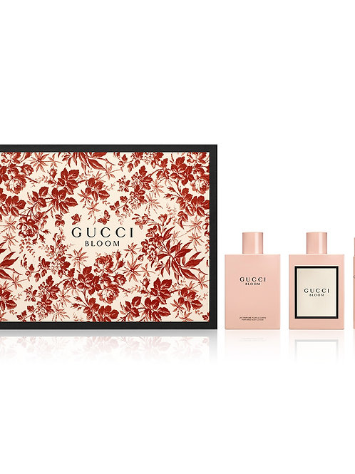 Gucci Bloom for Women by Gucci 3 Piece Gift Set EDP