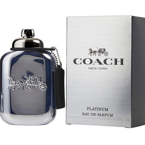 Coach New York Platinum for Men EDP 3.3oz