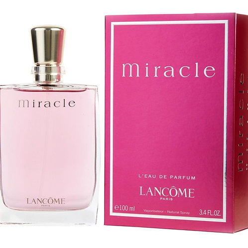 Miracle for Women by Lancome Eau de Patfum 3.4 OZ