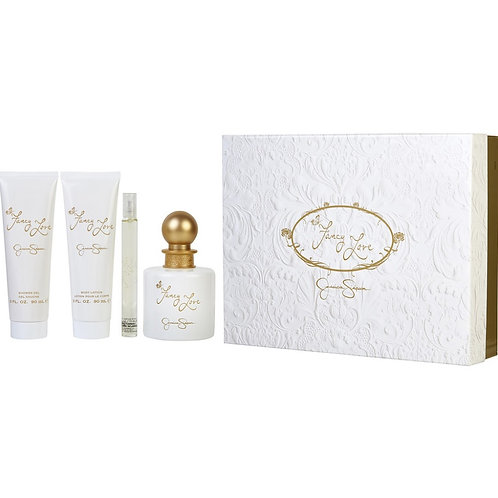 Fancy Love by Jessica Simpson 4pc Gift Set Eau De Parfum Spray