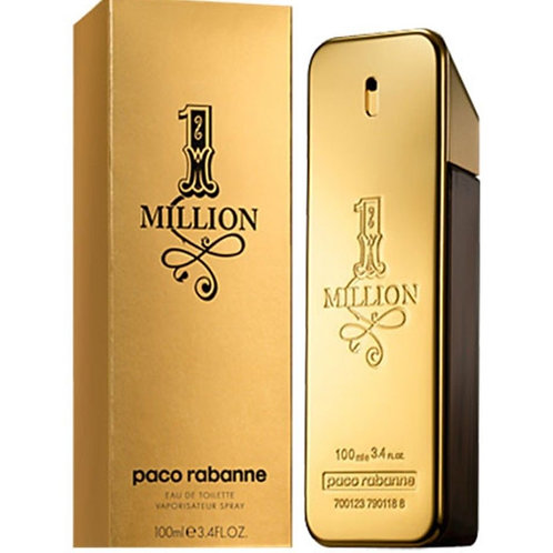 Paco Rabanne One Million for Men Eau De Toilette 3.4oz