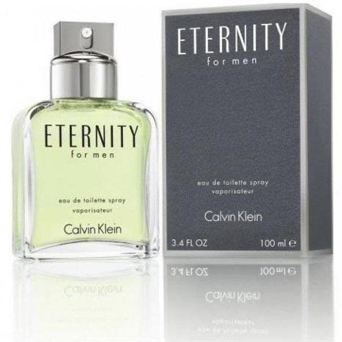 Eternity for Men by Calvin Klein Eau de Toilette 3.4 OZ