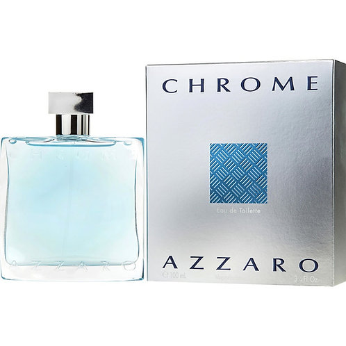Chrome Azzaro for Men by Loris Azzaro Eau de Toilette Spray 3.4oz