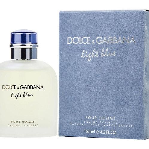 Dolce & Gabbana Light Blue for Men Eau de Toilette 4.2 OZ