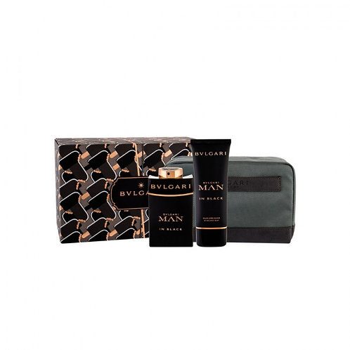 Bvlgari Man In Black 3pc Gift Set EDP